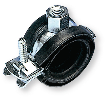 Hinged pipe clamp